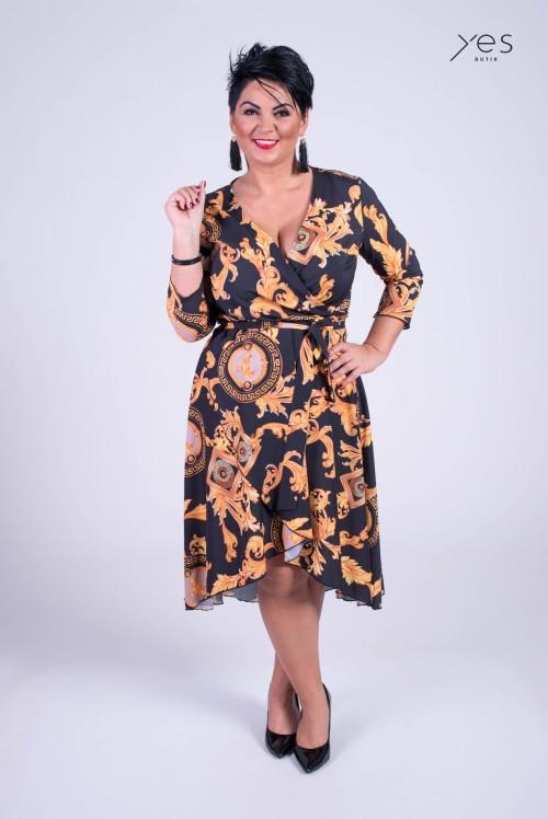 daea33b761 Sukienka GABBANA Plus Size 44-52 Butiknaplus.pl