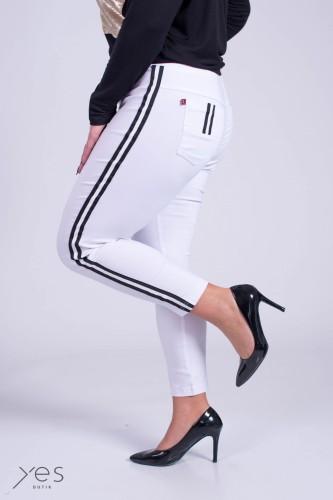 Koszula KROPECZKI STÓJKA biała Plus Size 48 52 Butiknaplus.pl  sVpOS
